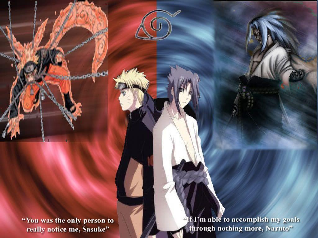 Wallpapers Keren: Special Naruto vs Sasuke Wallpapers