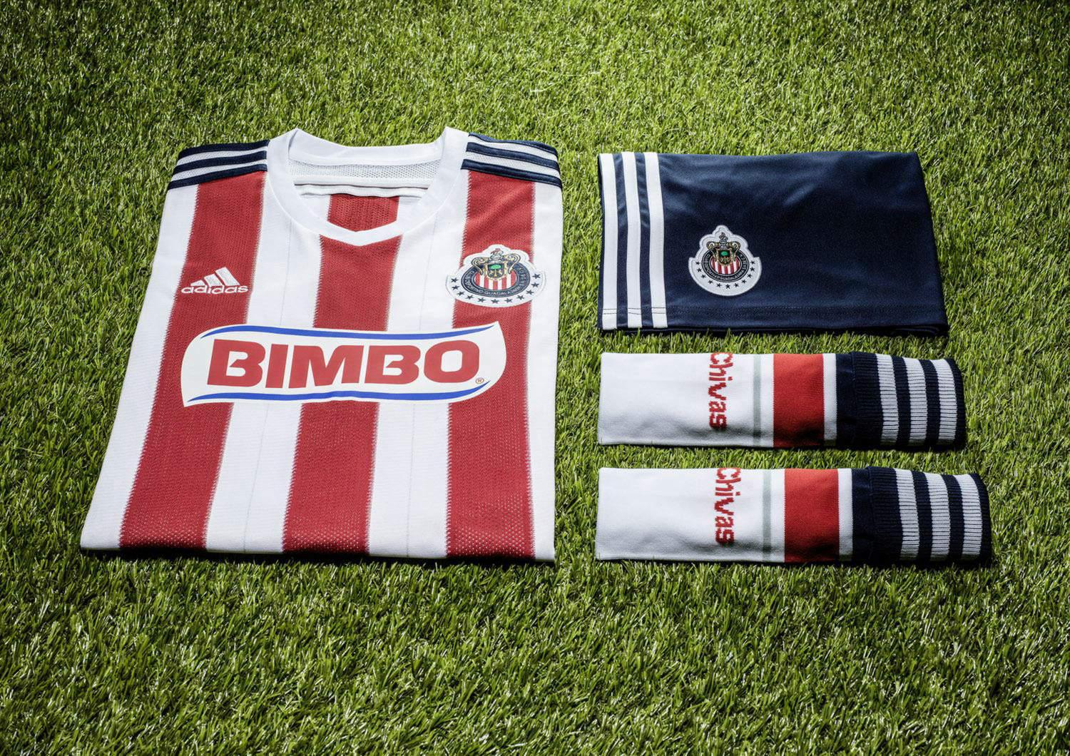 115e2825a4e Chivas Guadalajara 14-15 Home Kit Released - Footy Headlines