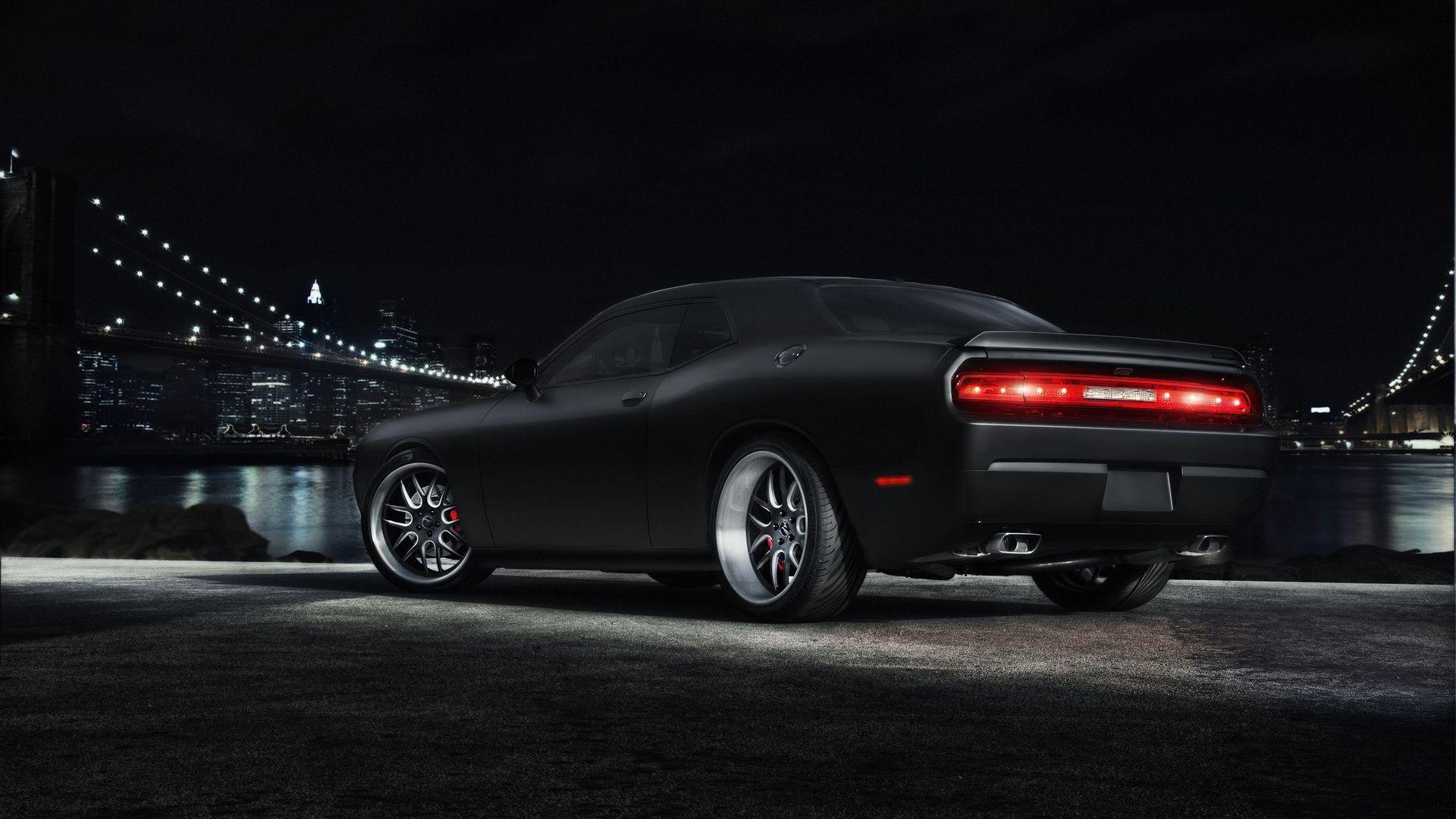 1920x1080 Dodge, Challenger, Black, Dodge, Muscle Car, Challenger