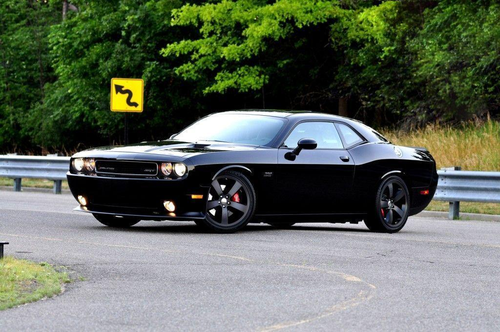 2017 Dodge Challenger Black HD Wallpapers