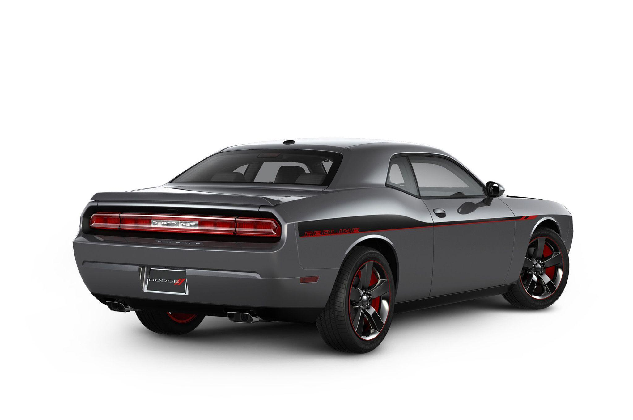 Chicago 2013: Dodge Challenger R/T Redline Package