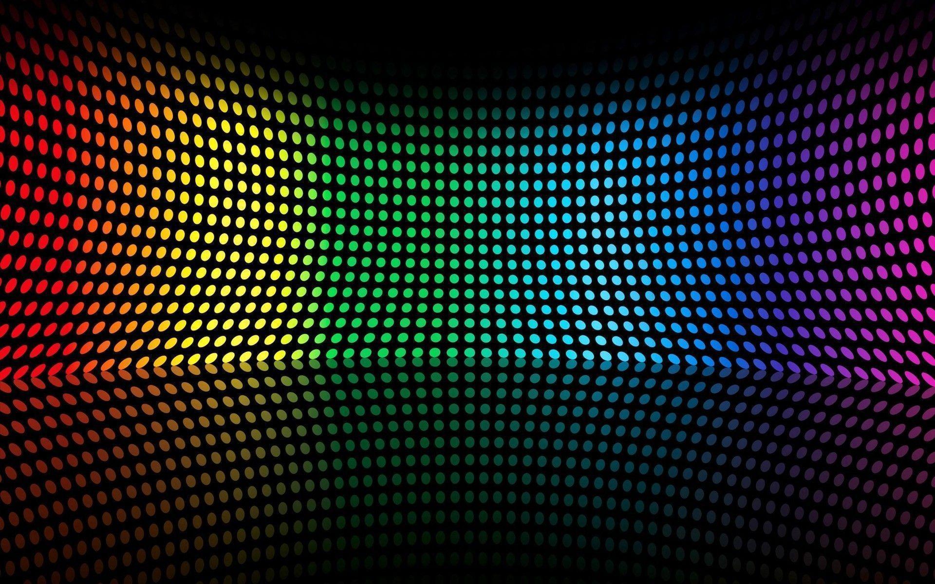 Colorful DJ Lights Computer Wallpaper