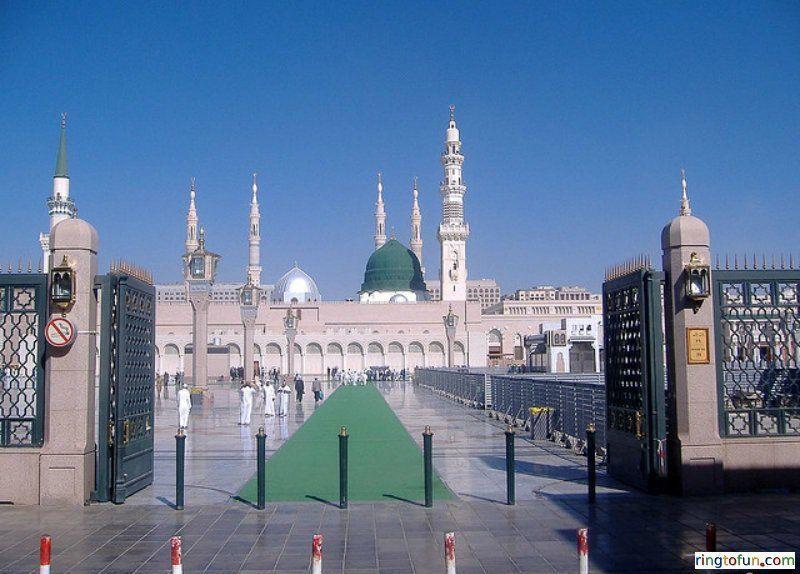 Masjid Al Nabawi Hd Islamic Wallpapers - Free Download Islamic ...
