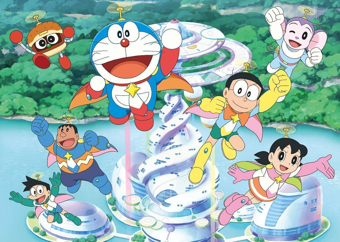 doraemon and friends wallpapers 2017 wallpaper cave