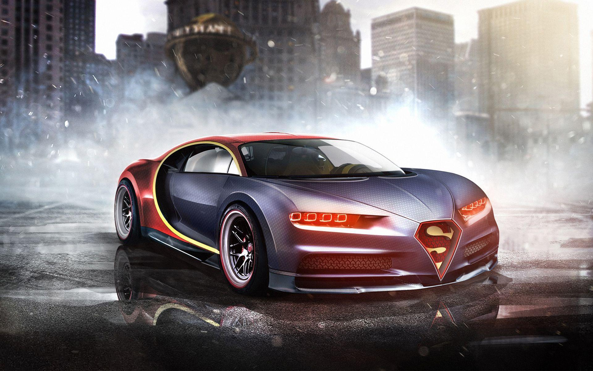 Superman Bugatti Chiro Wallpapers