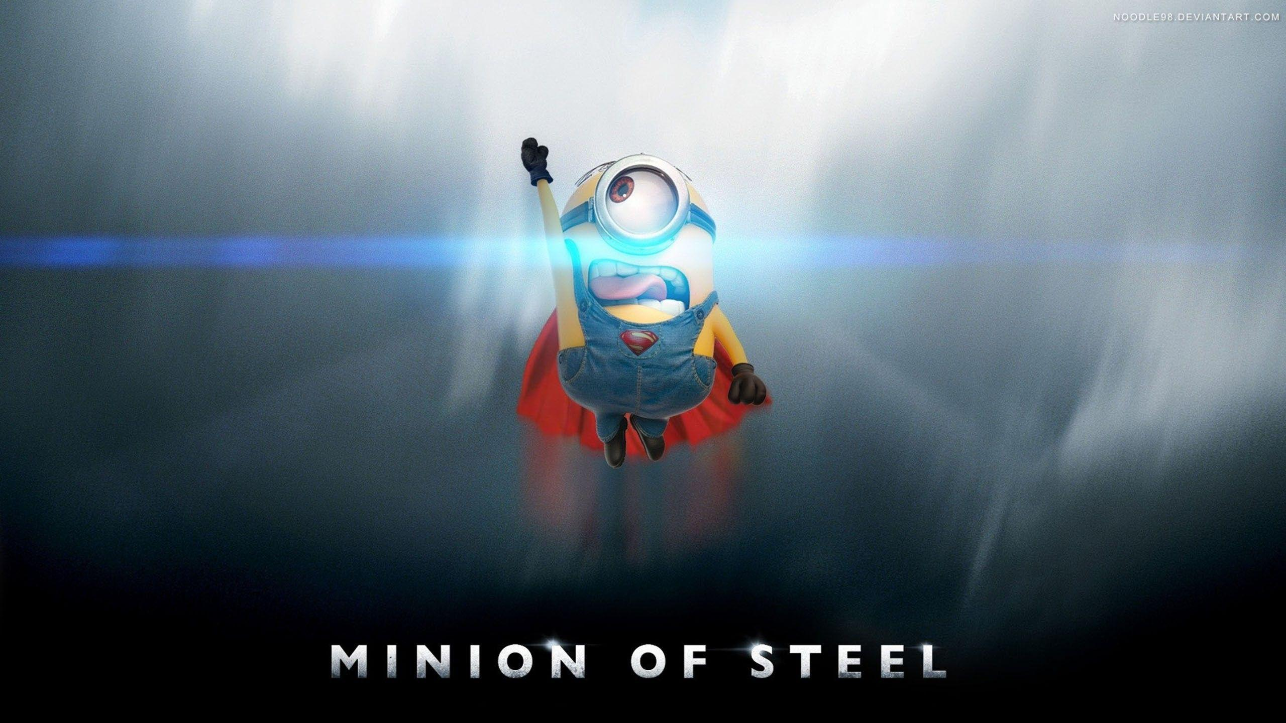 Wallpapers Minion, Man of Steel, Superman, Games