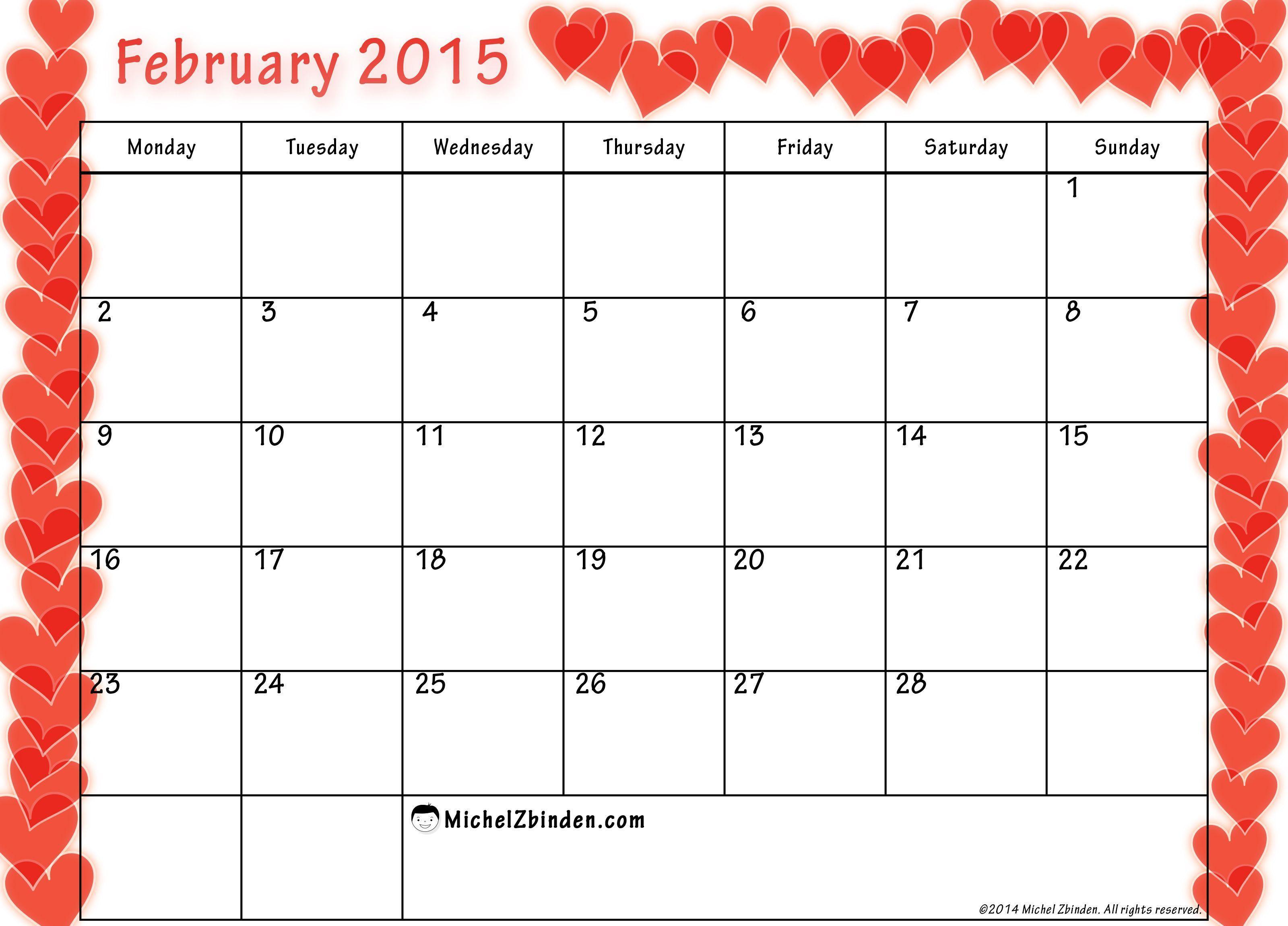 Calendar Wallpaper Creator : February wallpapers calendar wallpaper cave