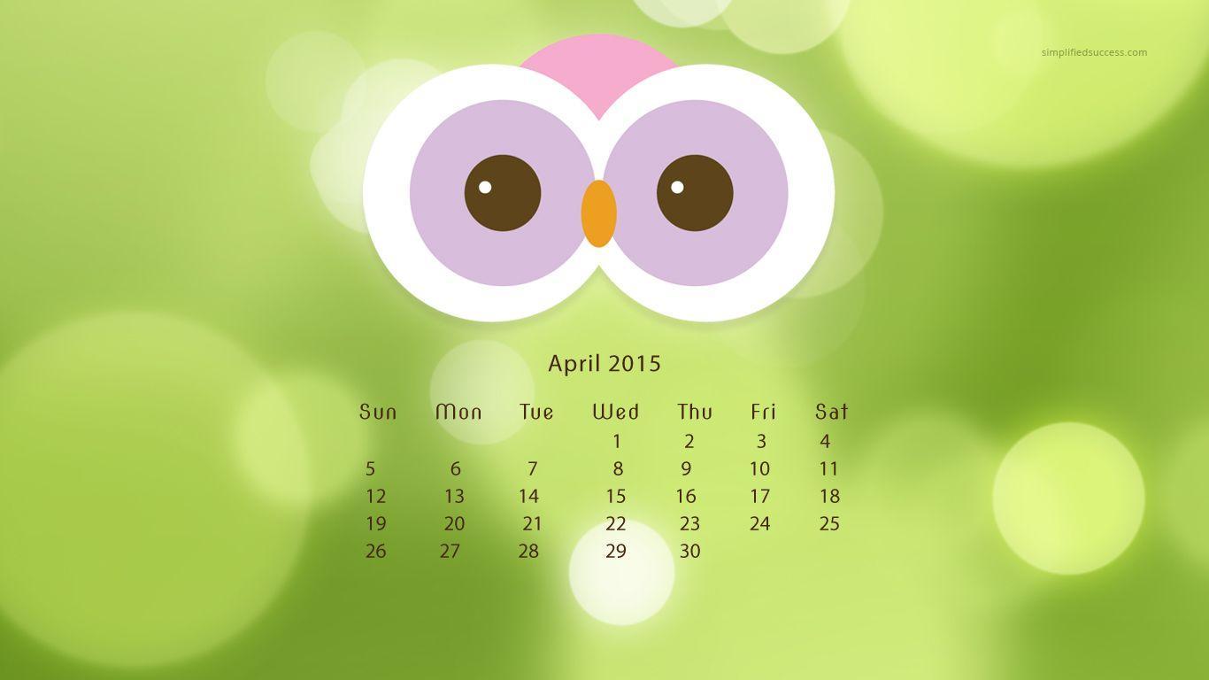 Desktop Wallpapers Calendar April 2017 - Wallpaper Cave