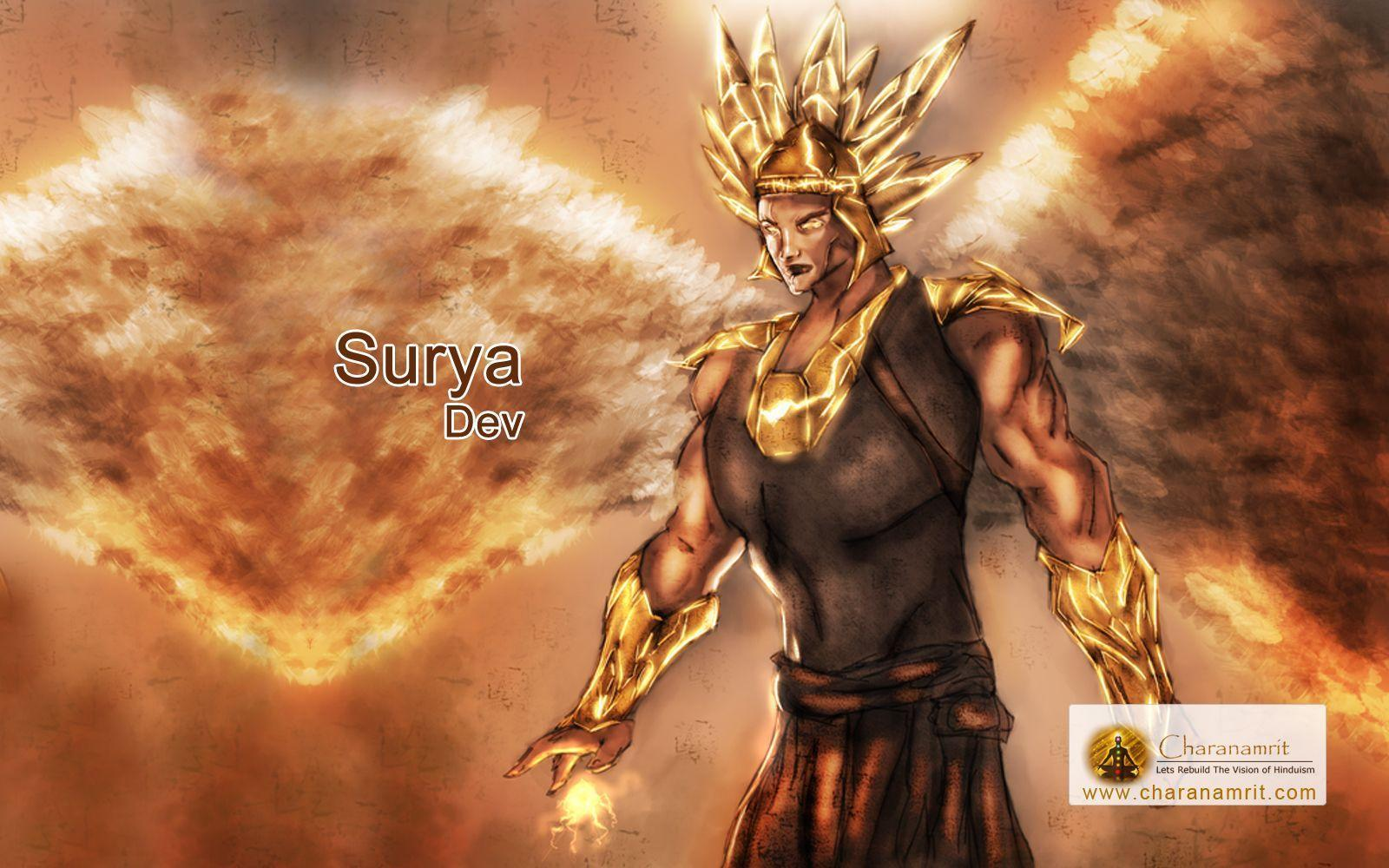 Surya Dev most imaging HD Wallpaper for free download, God Surya ...