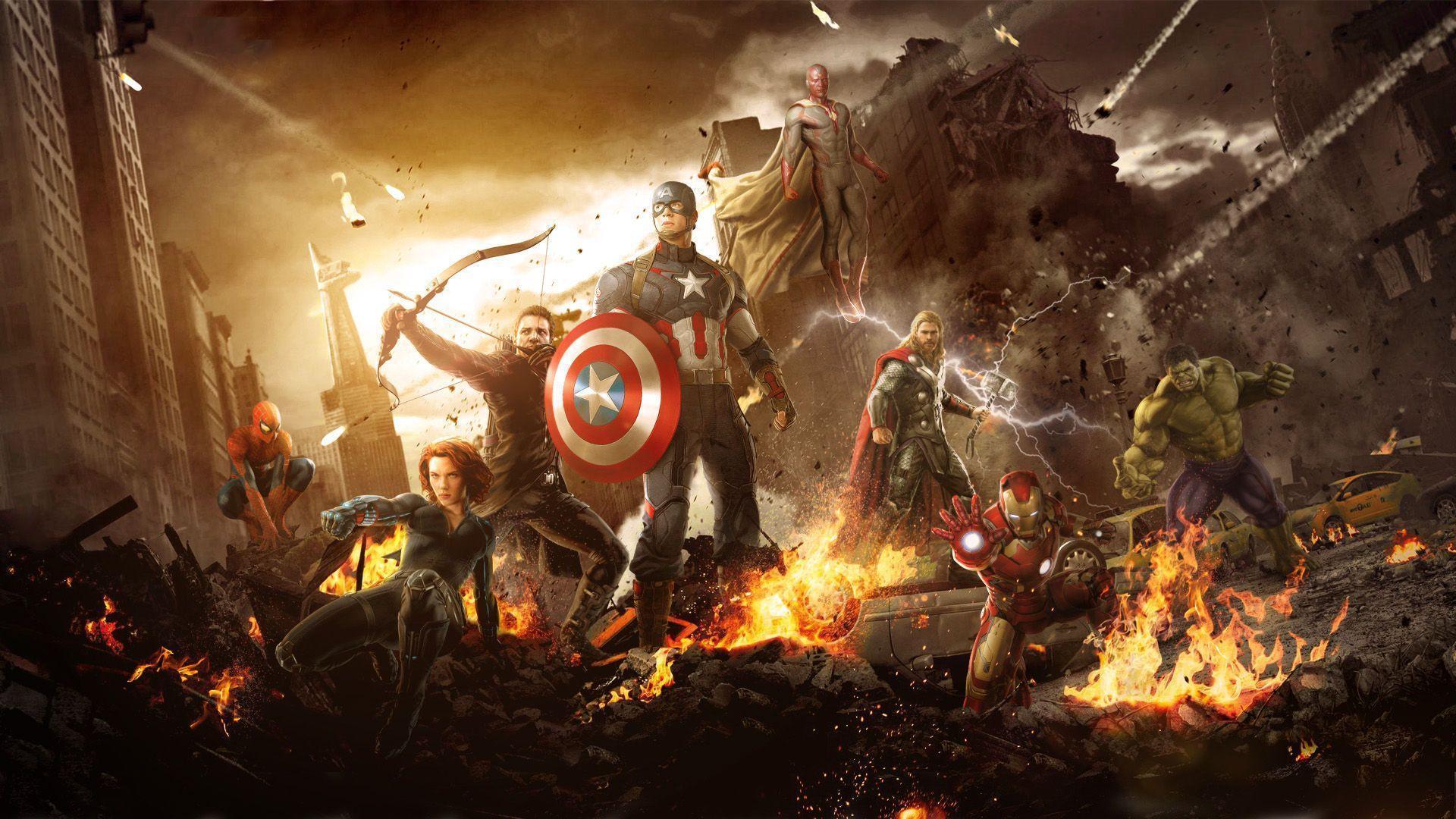 Avengers 2 Wallpapers Iphone HD Wallpaper Desktop Iphone Age Of...