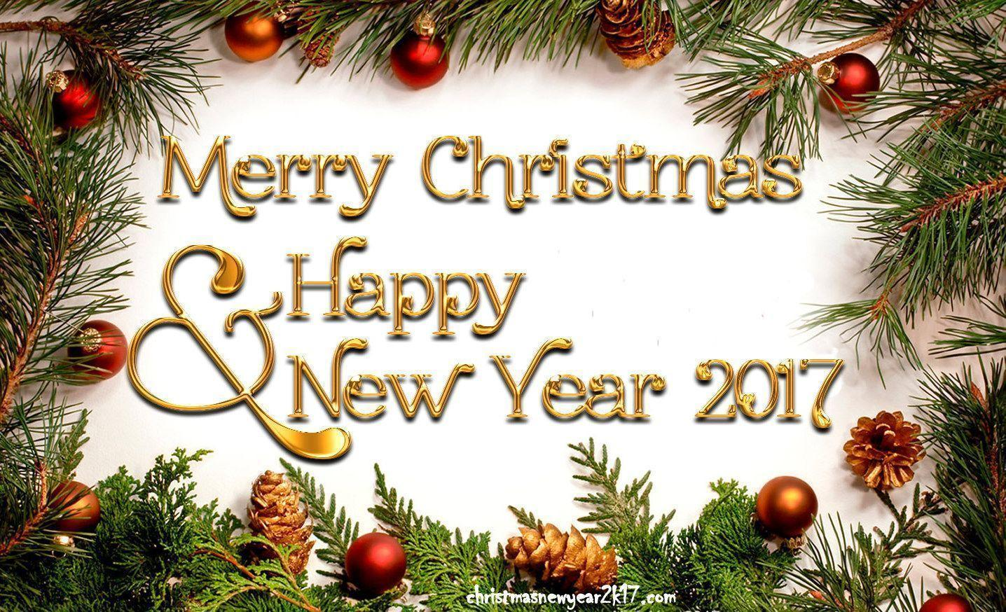 50 Beautiful Merry Christmas And Happy New Year Pictures: Merry Christmas Wallpapers 2017