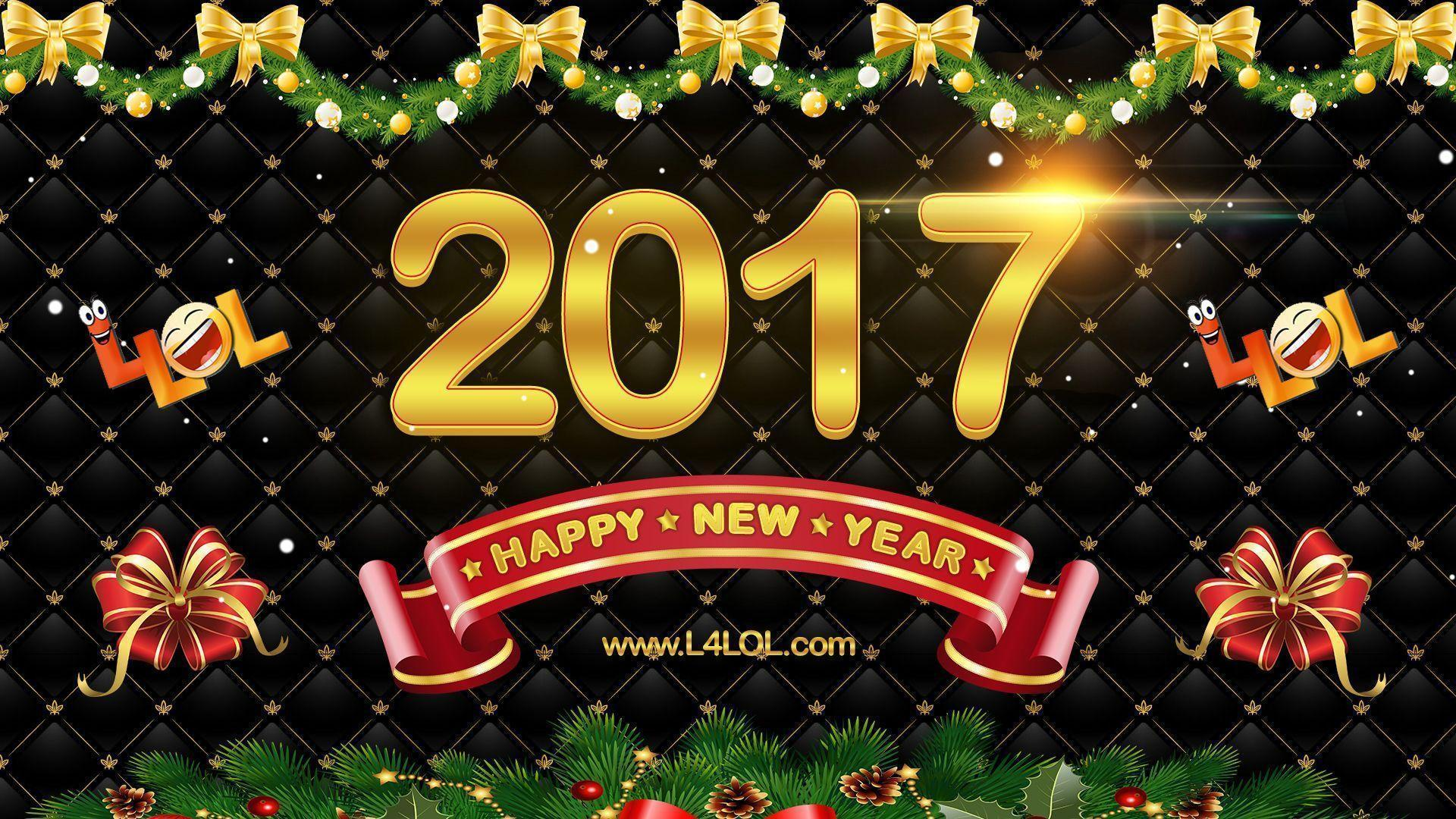 New Year Wishes 2017 Wallpapers Hd Wallpaper Cave