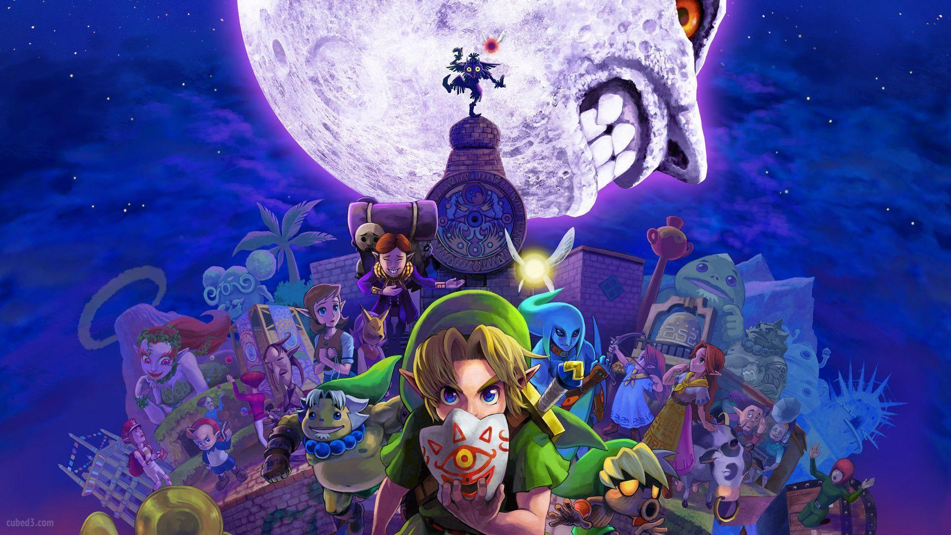 1 The Legend Of Zelda: Majora&Mask 3D HD Wallpapers