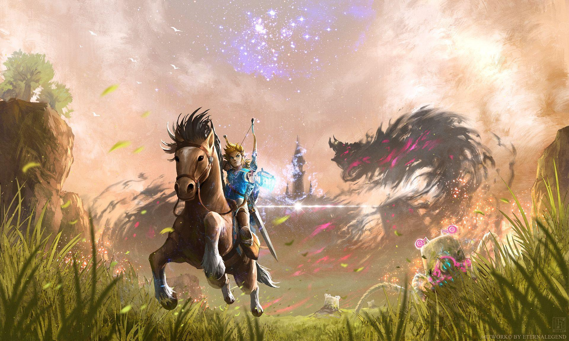 32 The Legend Of Zelda: Breath Of The Wild HD Wallpapers