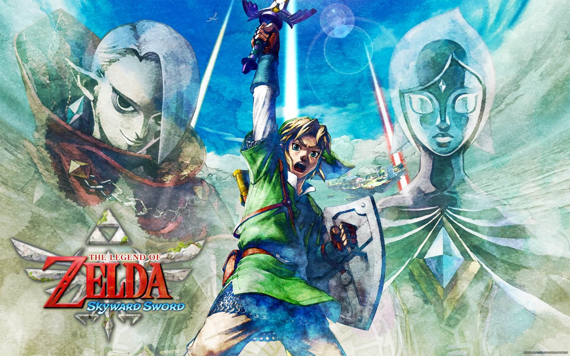 The Legend Of Zelda Skyward Sword Wallpapers Hd