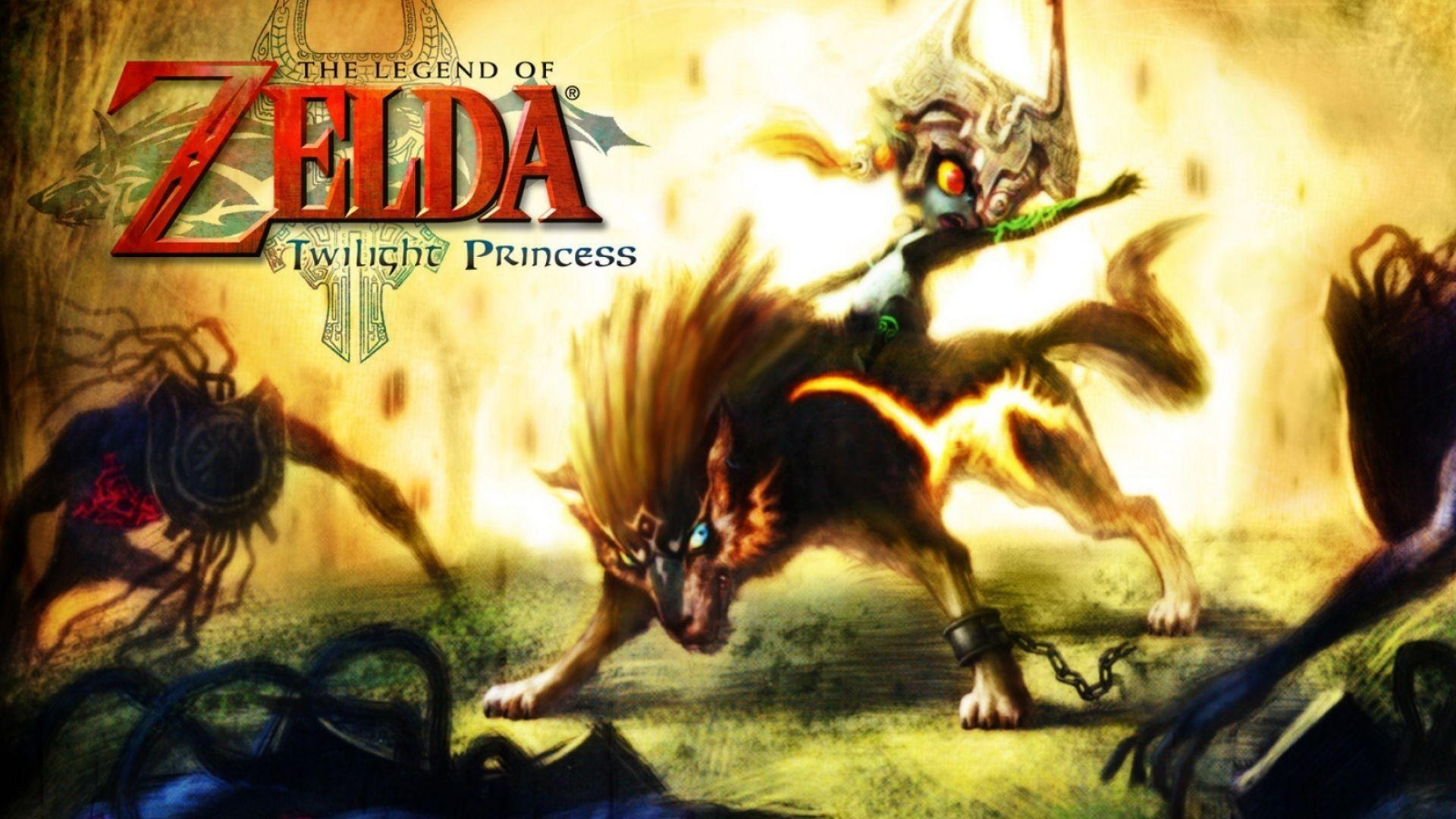The Legend Of Zelda Twilight Princess Desktop Backgrounds