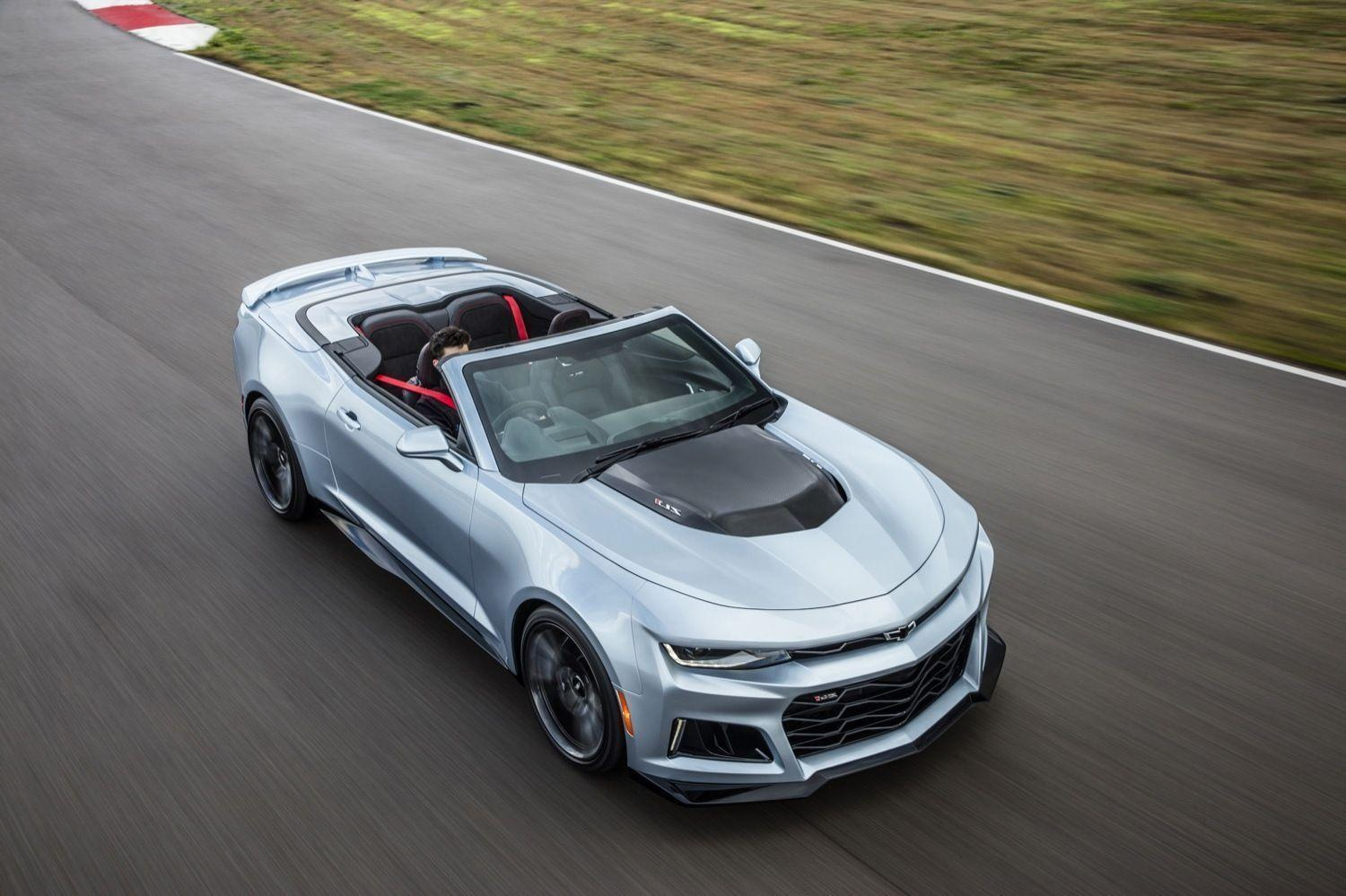 2017 Chevrolet Camaro ZL1 Convertible Desktop Wallpapers