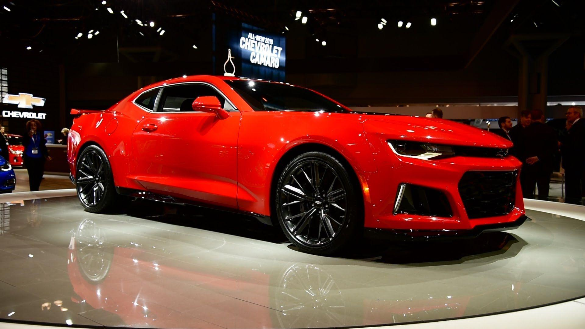 2017 Camaro ZL1 at New York Auto Show