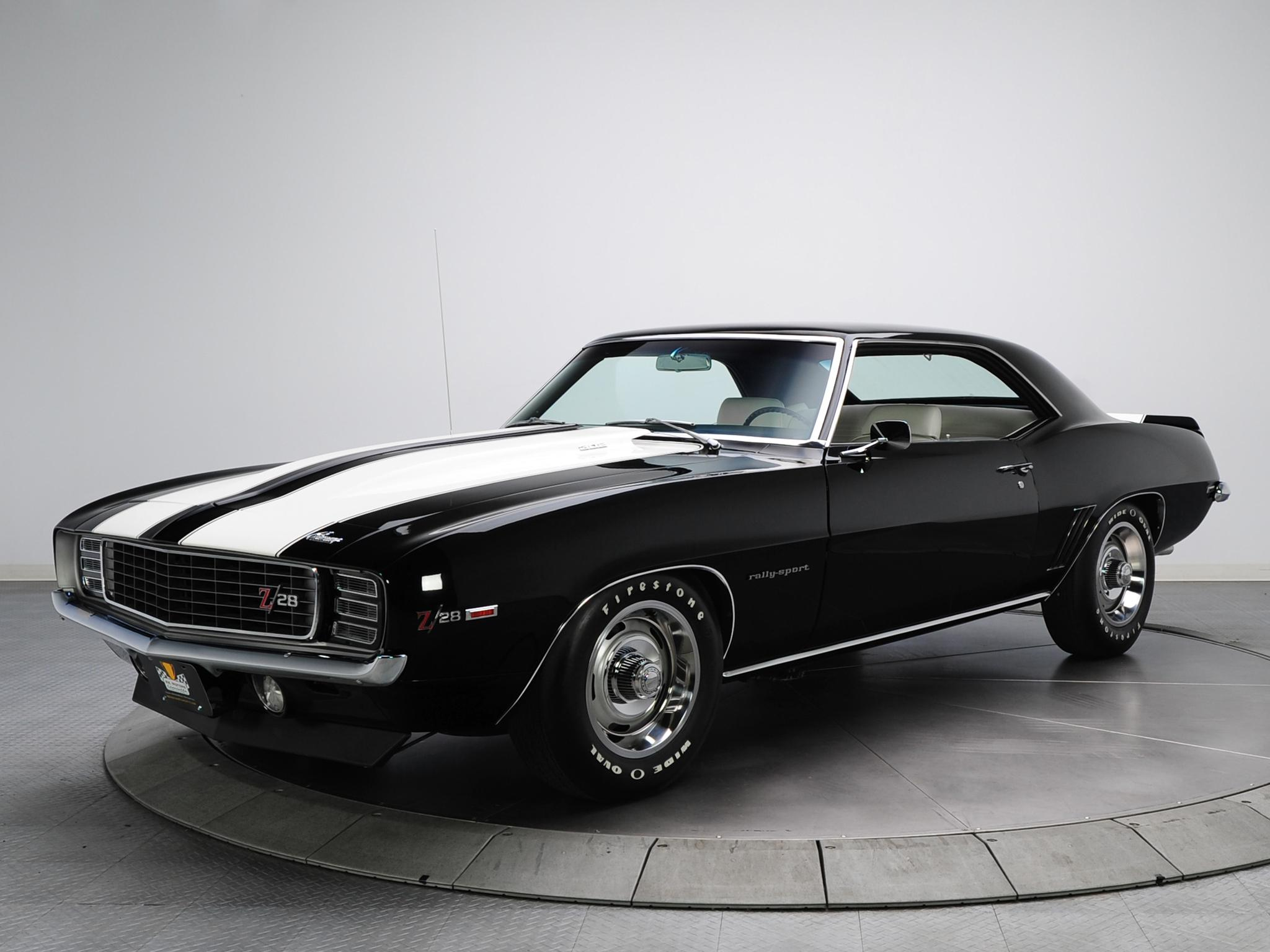 Black Chevrolet Camaro Wallpapers