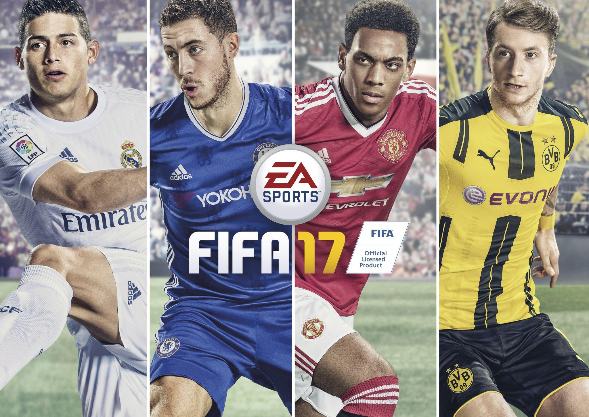 9 FIFA 17 HD Wallpapers