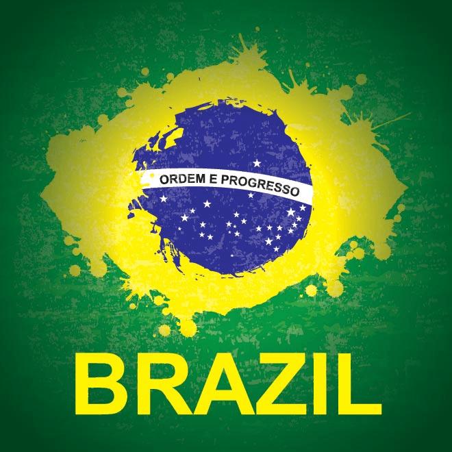 Brazil Flag Eye
