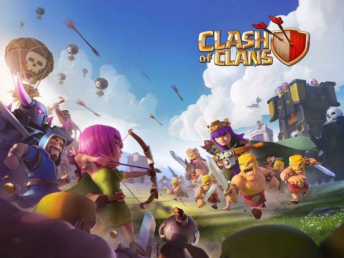 Clash Of Clans Wallpapers - Wallpaper Cave