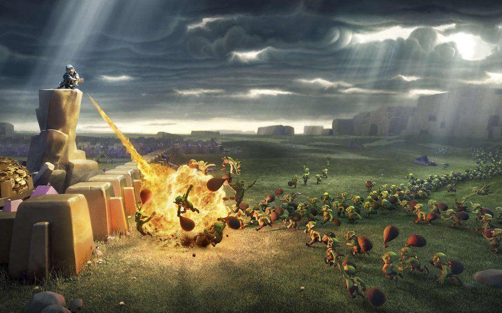 Clash Of Clans Wallpap...
