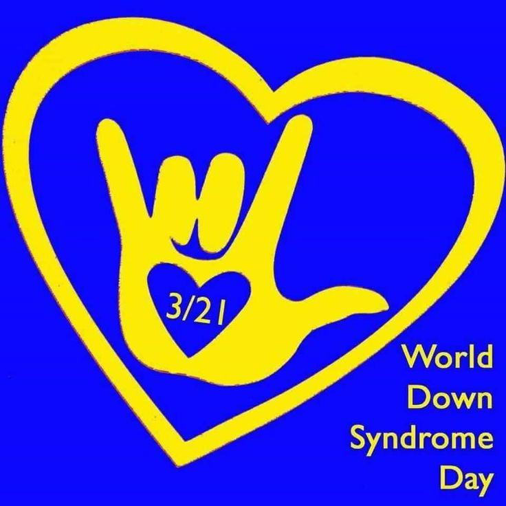 Blog 139~World Down Syndrome Day 2016