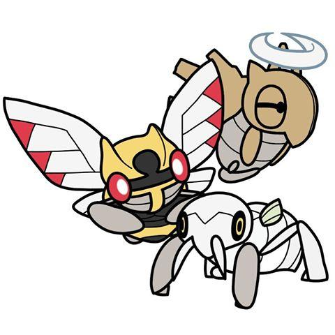BugDex #290 #291 #292 #pokemon #bug #bugdex #digitalart # - Images about #ninjask on Instagram - Nincada HD Wallpapers