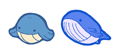 qt wailmer and wailord by Hazuza ... - qt wailmer and wailord by Hazuza on DeviantArt - Wailmer HD Wallpapers