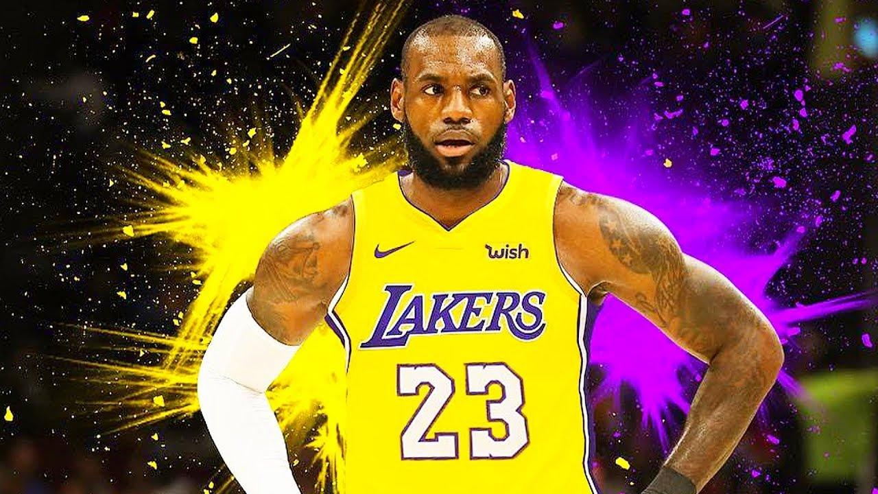 Lebron James Lakers Wallpapers - Wallpaper Cave