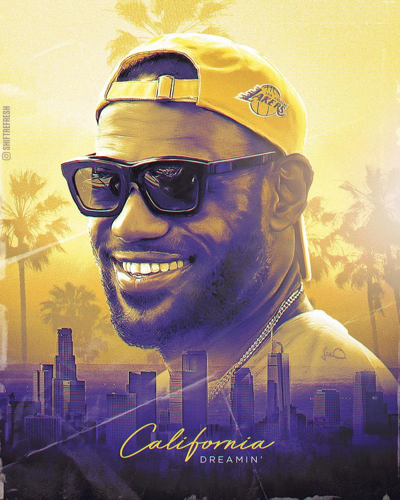 Lebron James Lakers NBA