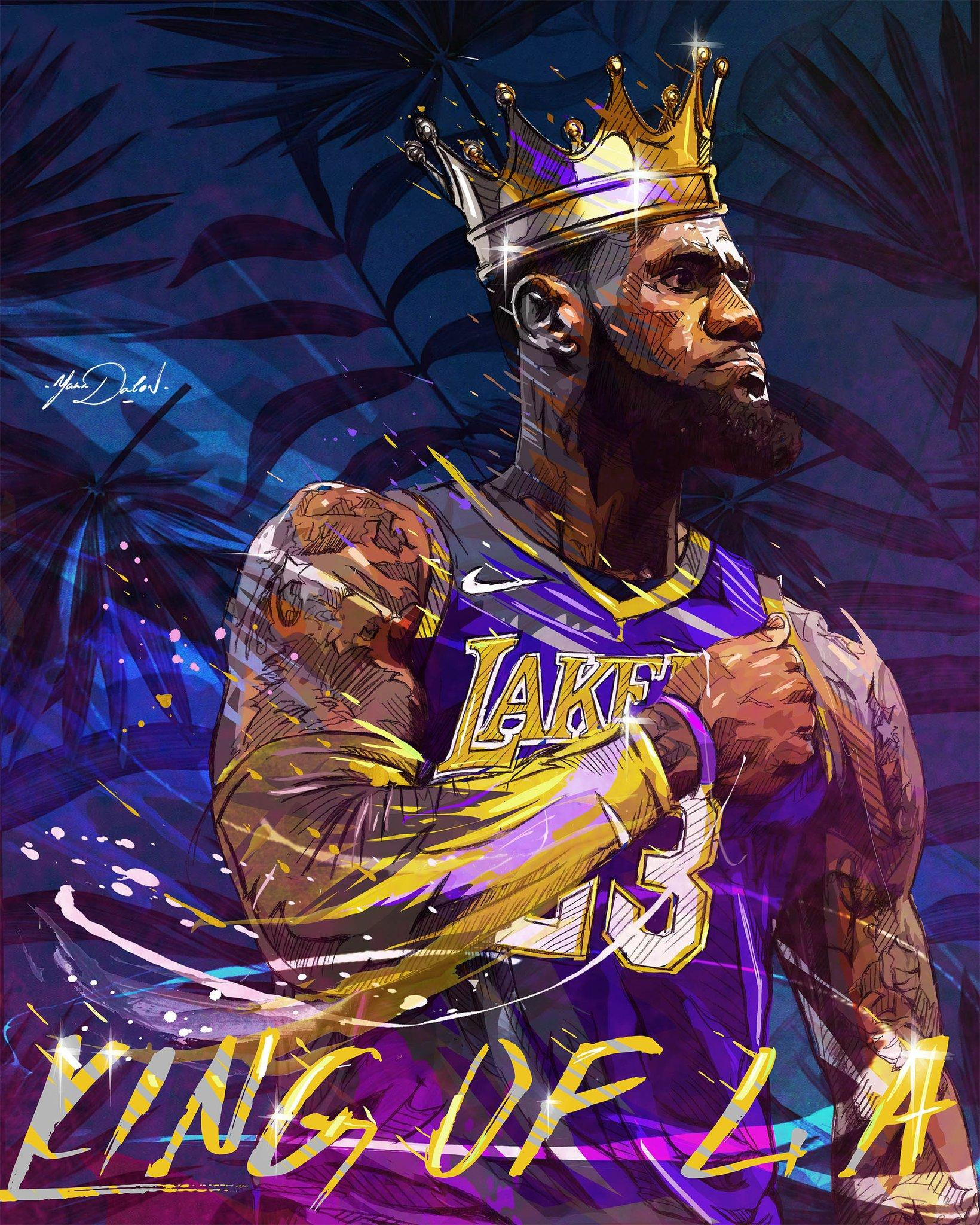 Lebron James Lakers Wallpapers