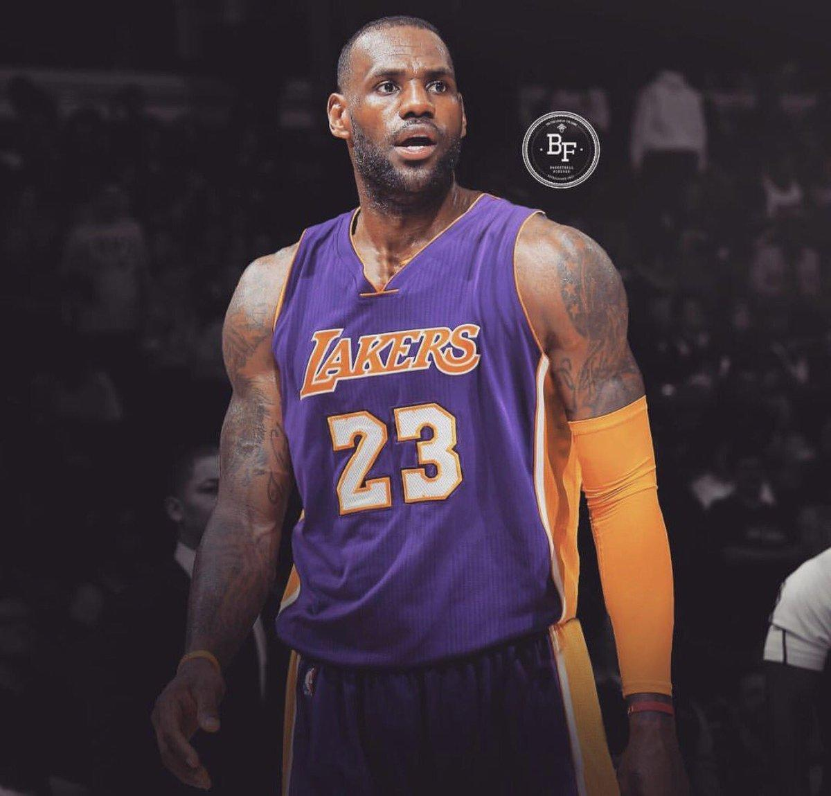 LeBron James Los Angeles Lakers 2018