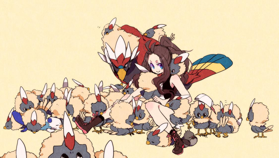 Pokémon Black & White · download Pokémon Black & White image - Rufflet - Pokémon - Zerochan Anime Image Board - Rufflet HD Wallpapers