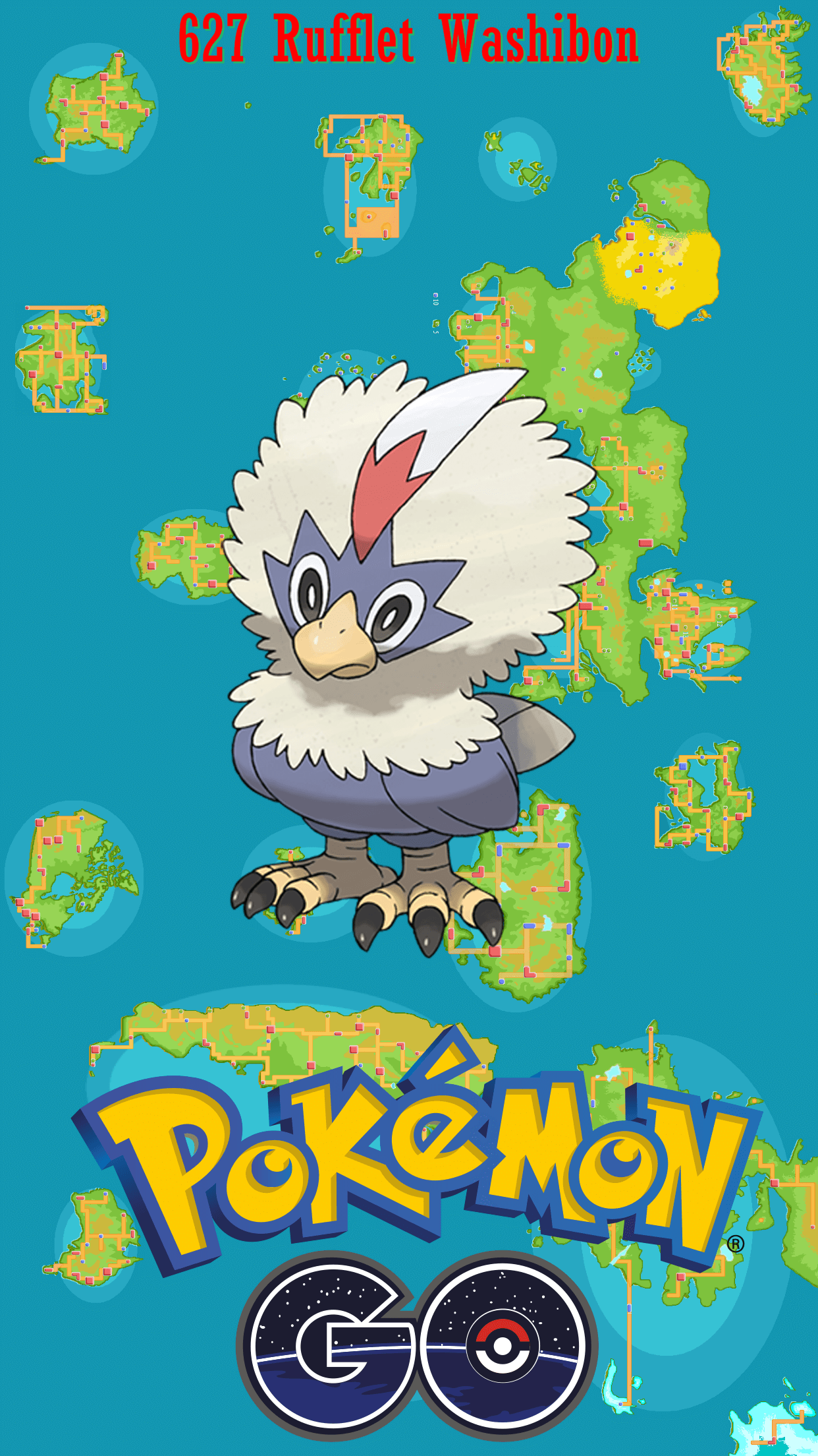 627 Street Map Rufflet Washibon - 627 Street Map Rufflet Washibon | Wallpaper - Rufflet HD Wallpapers