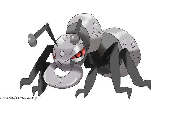 Durant the Ant pokemon by Phatmon ...
