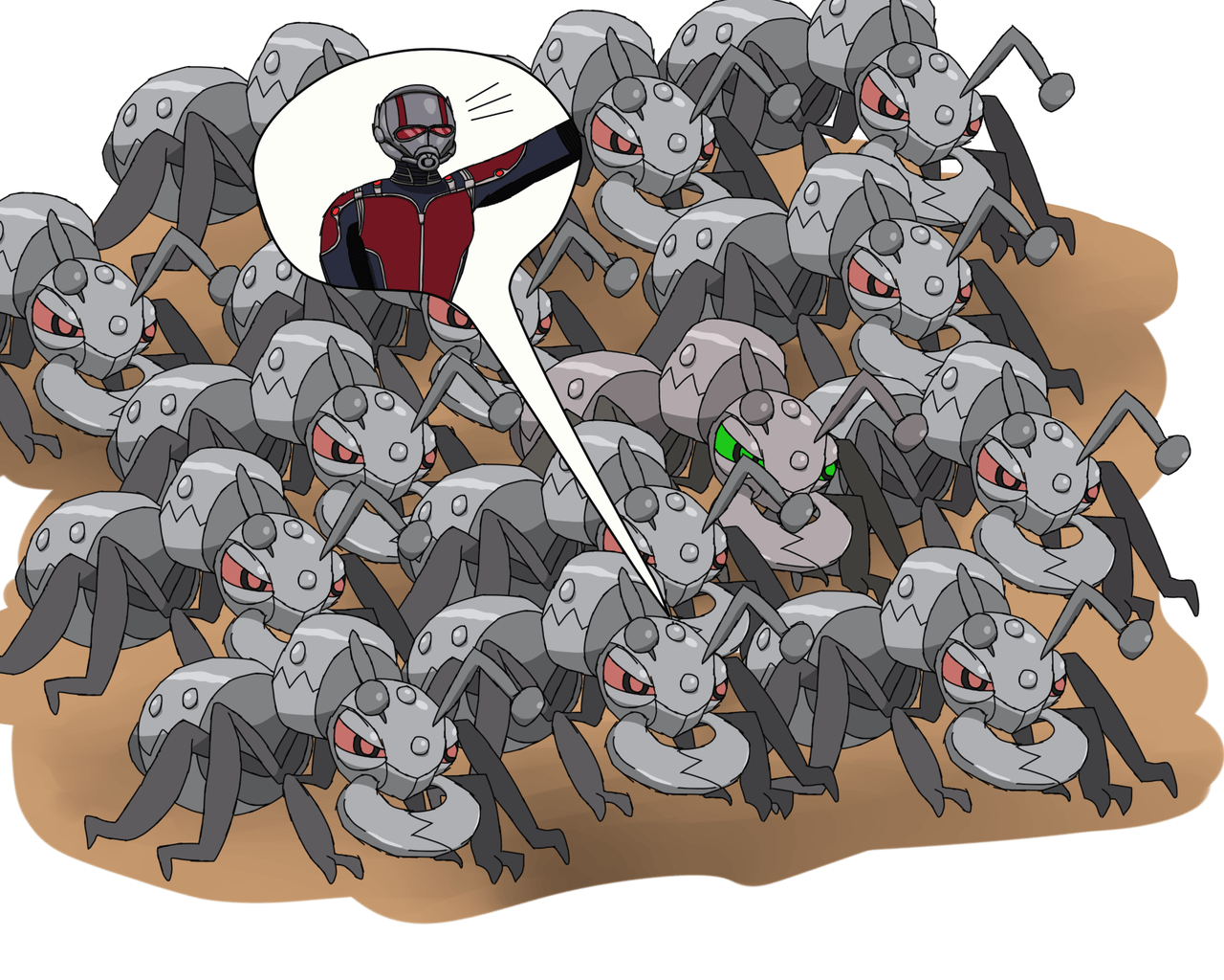 ... Ant-Man in lots of backup Durant by Deaf-Machbot - Ant-Man in lots of backup Durant by Deaf-Machbot on DeviantArt - Durant HD Pokemon Wallpapers