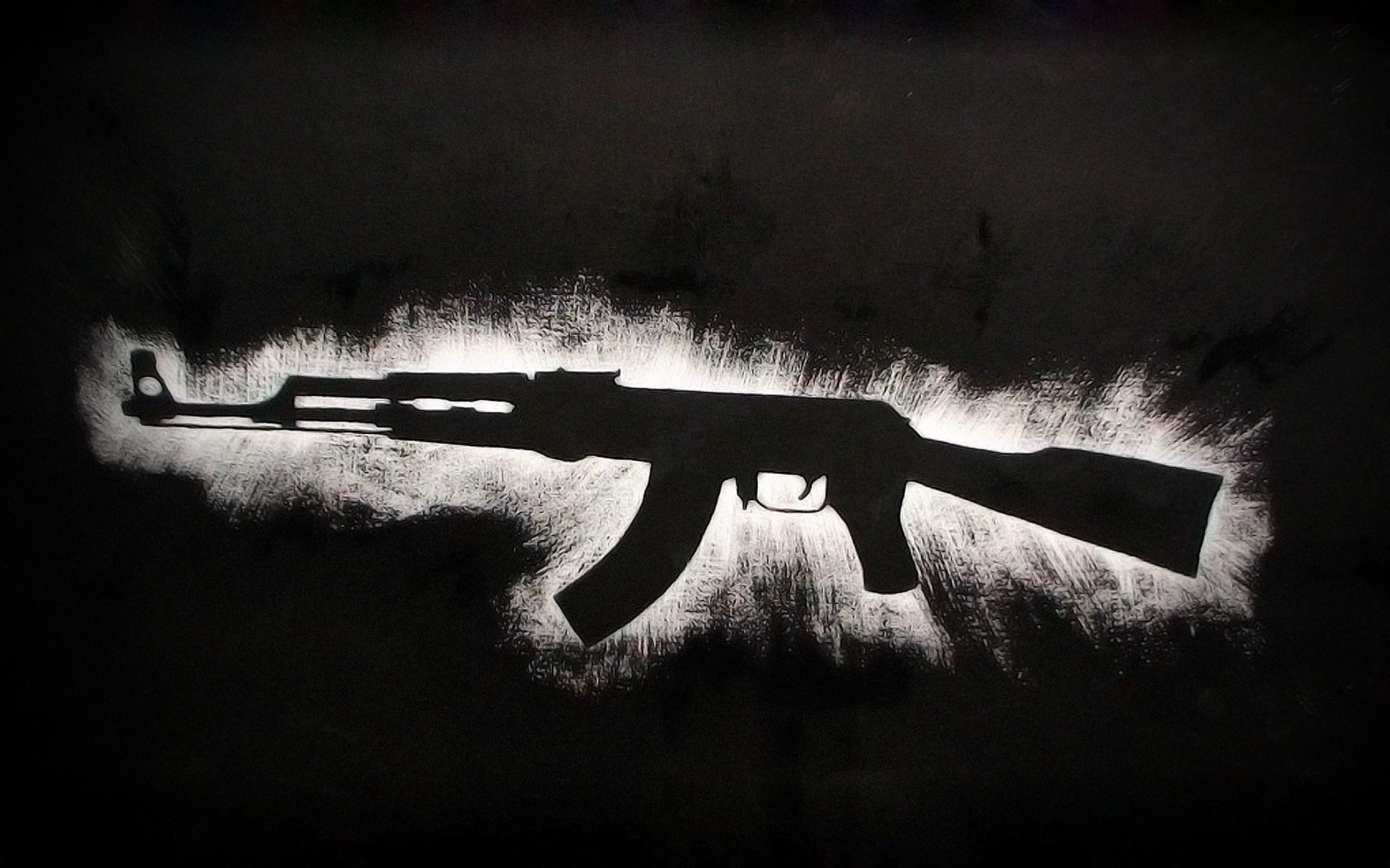 AK 47 Gun Wallpaper