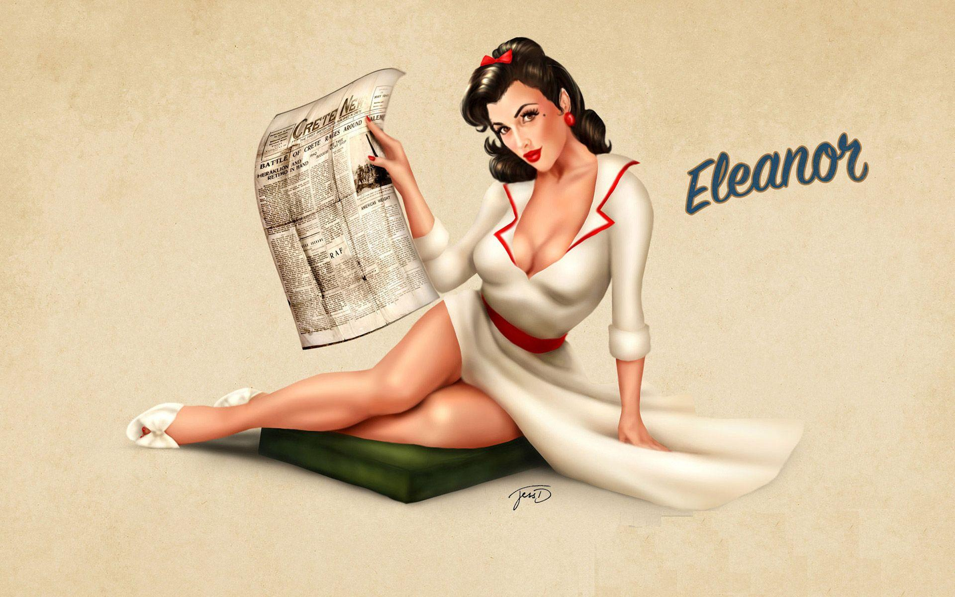 Pin Up Wallpapers Hd Wallpaper Cave