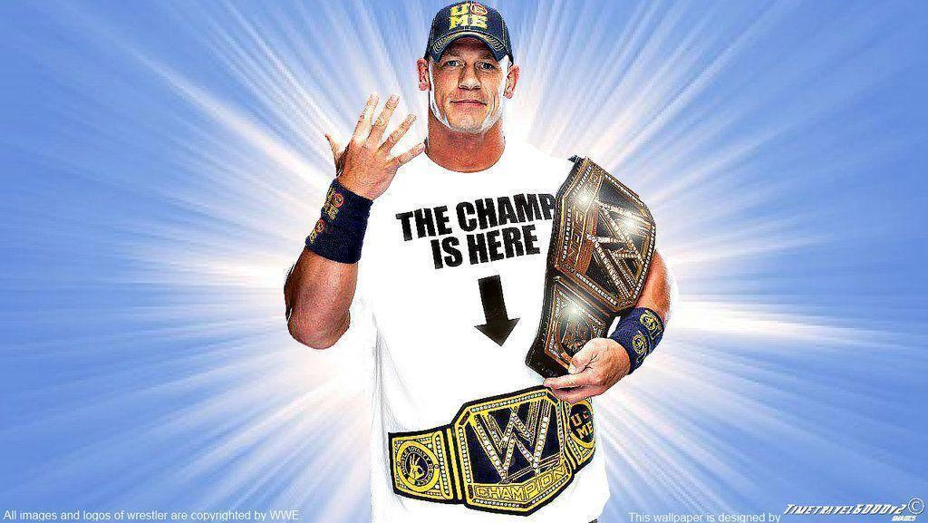 John Cena WWE Champion And World Heavyweight Is Here