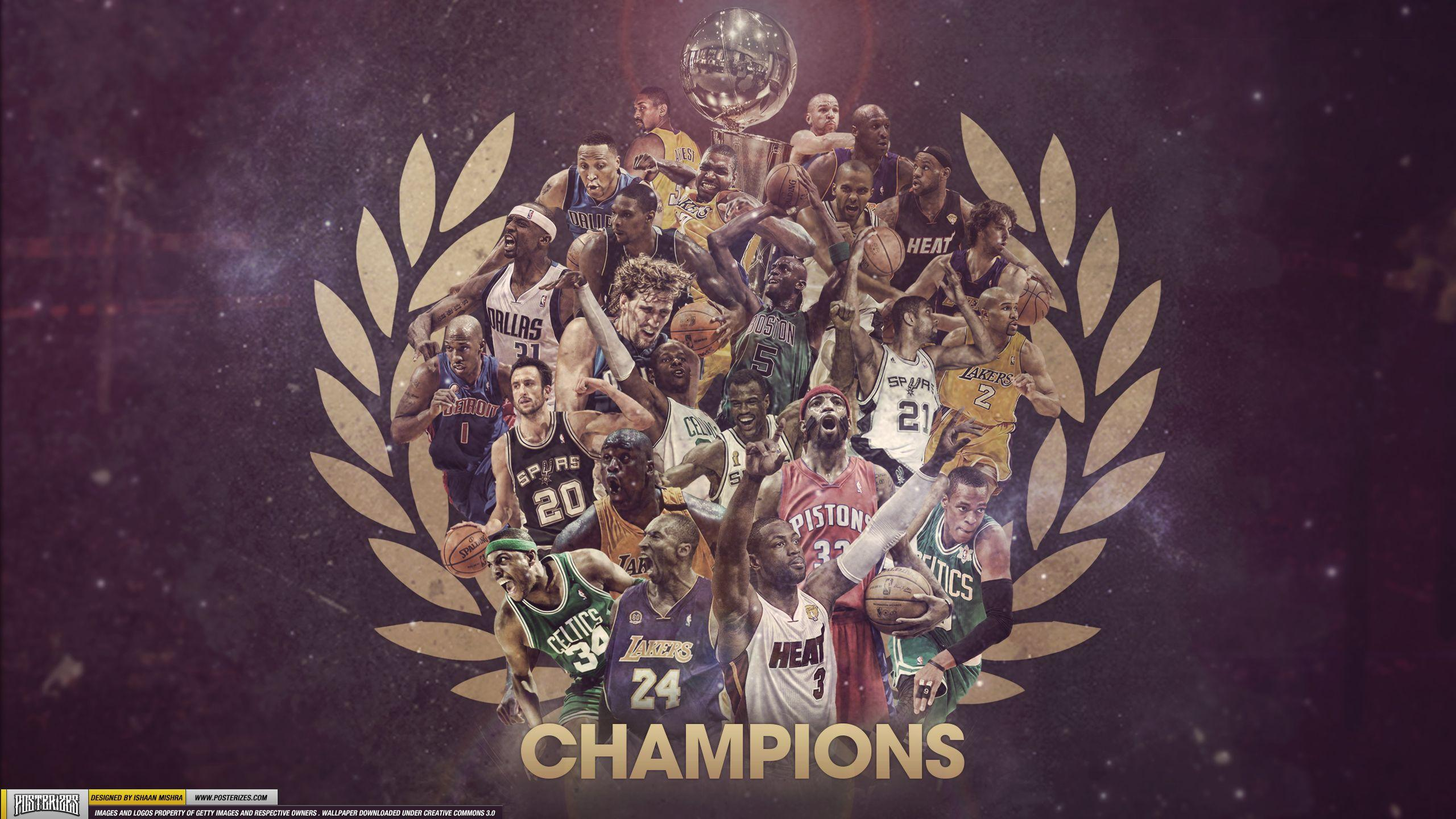 nba champions 1999 2012 wallpaper slamonline