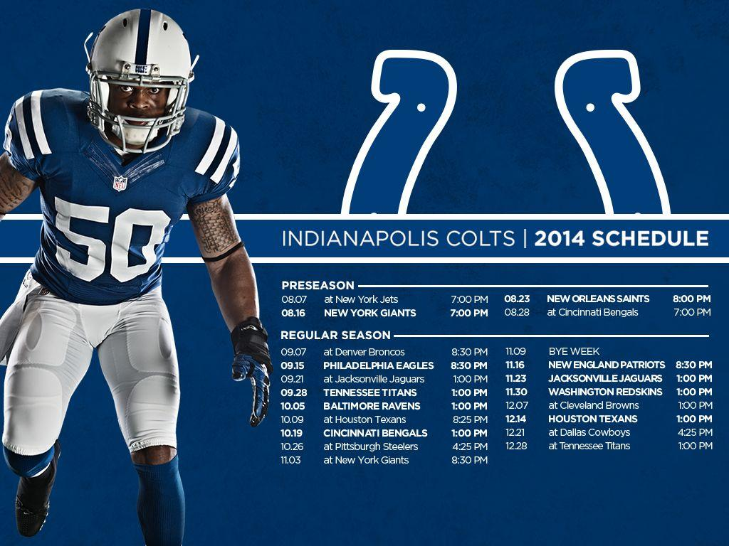 Epic image with regard to colts schedule printable