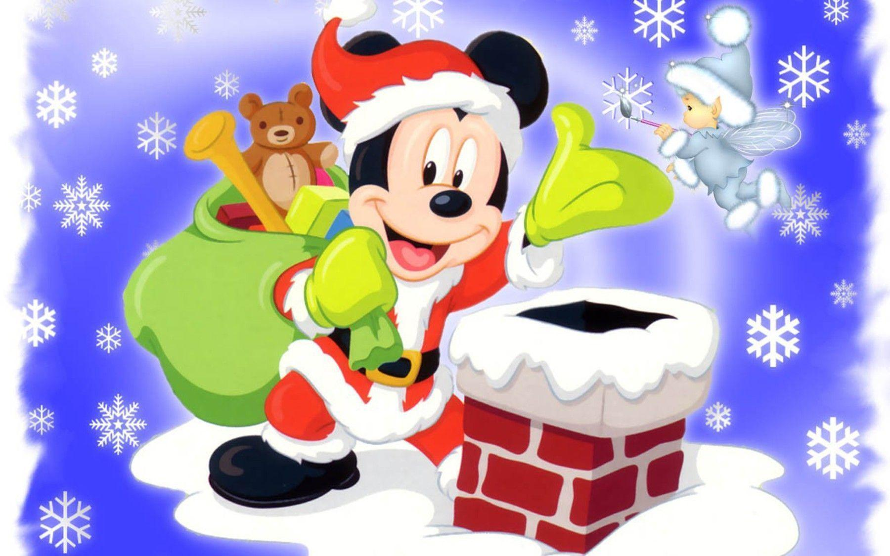 Disney Christmas Cartoon Wallpapers