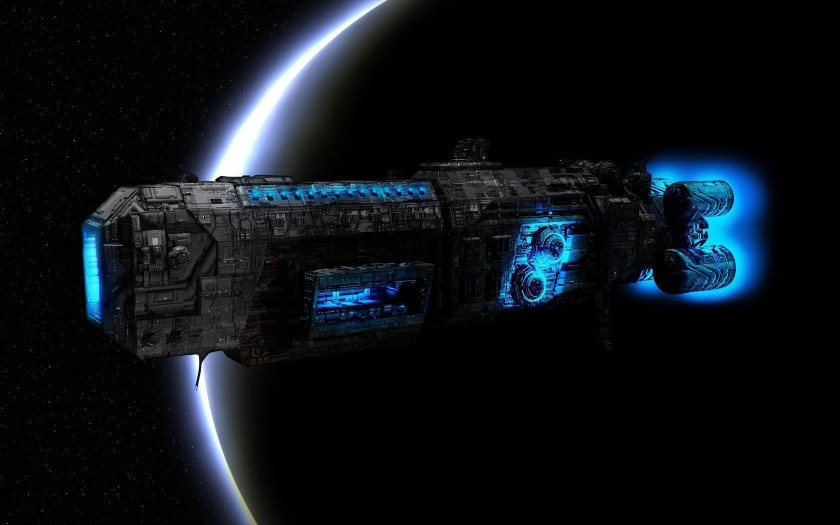 Ogame Space-Ship Wallpaper by ToBiOh on DeviantArt