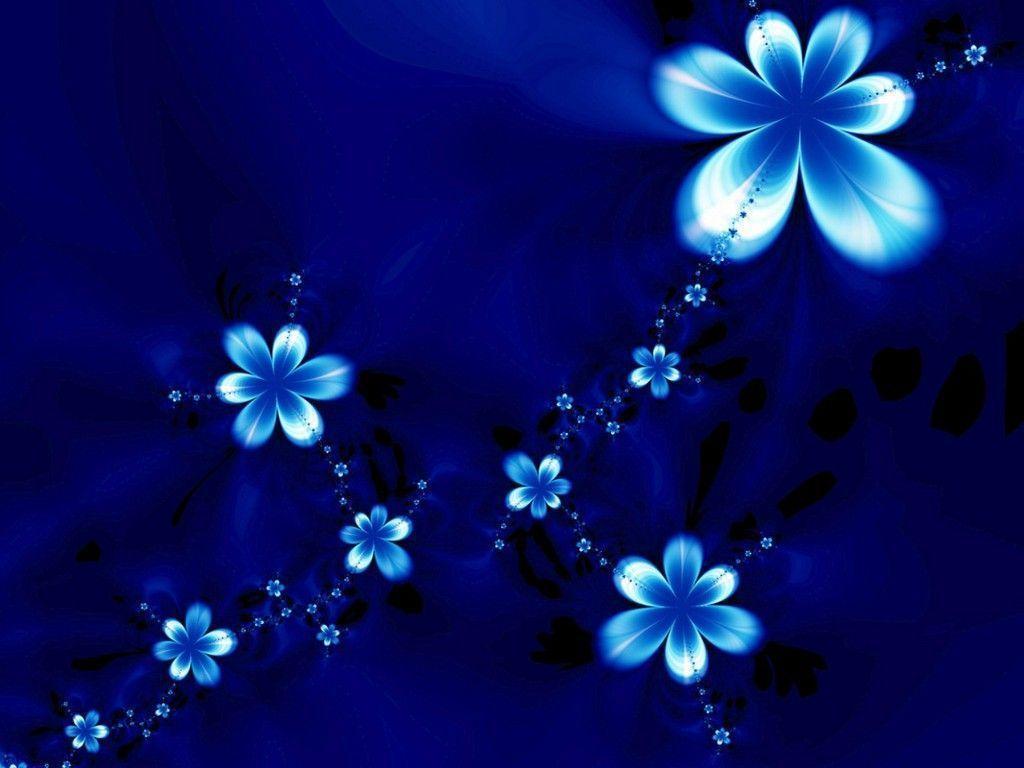 Blue Flower Backgrounds - Wallpaper Cave