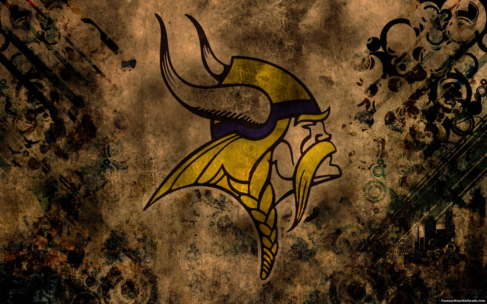 Minnesota Vikings Grunge Wallpaper HD | Torneof1
