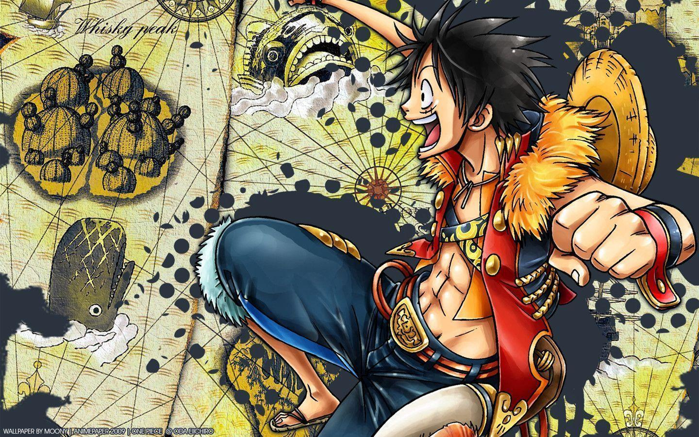 One Piece Luffy Wallpapers Collection