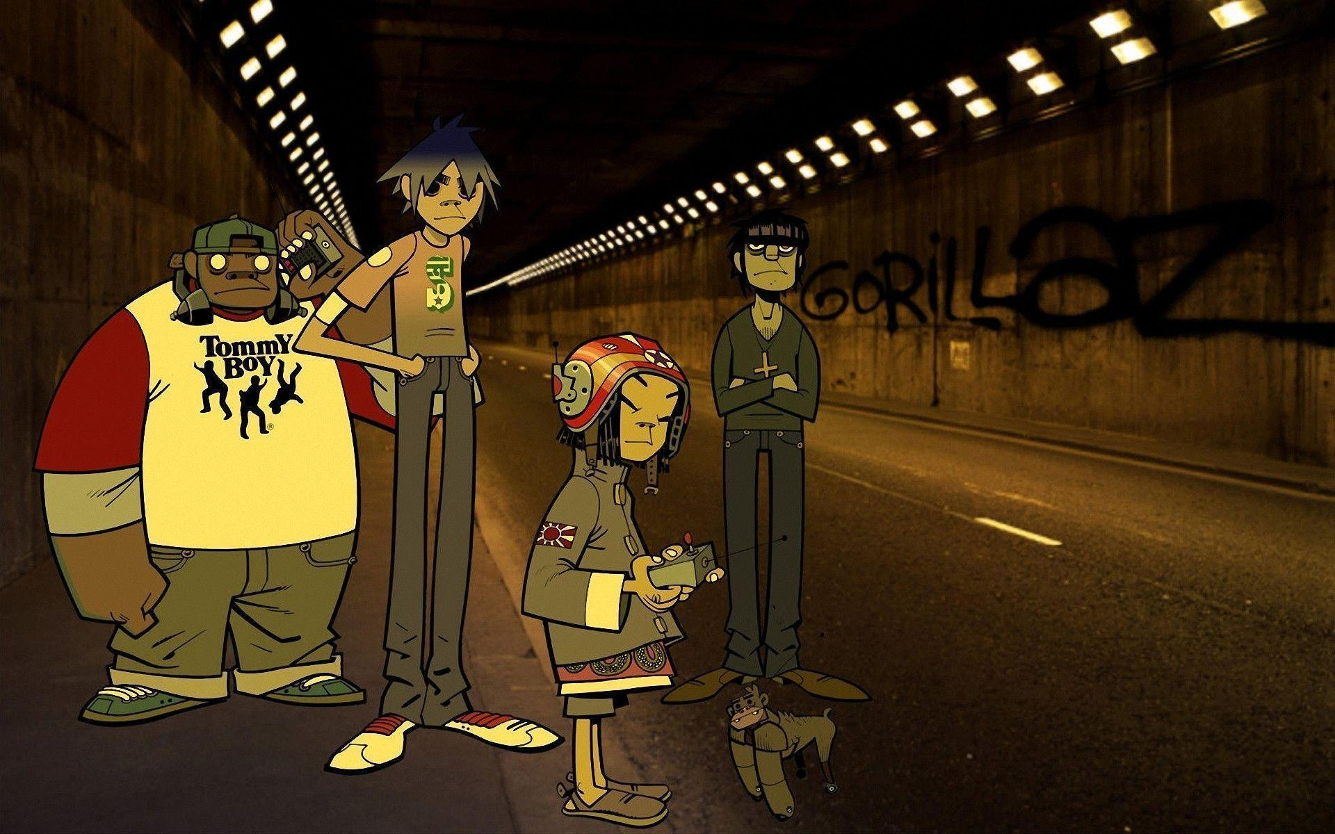 download wallpaper gorillaz desktop - photo #16