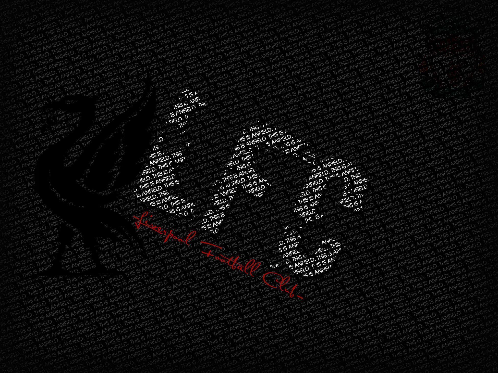 Black Wallpaper Liverpool Logo